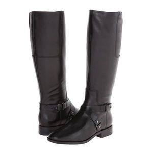 Nine West NWBlogger Leather tall riding boots